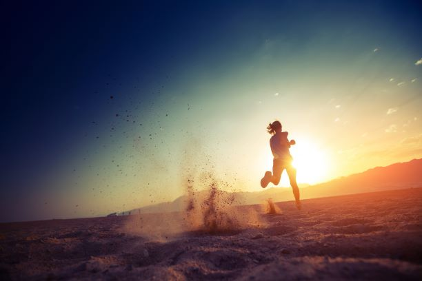 energy leaks from running in the sand