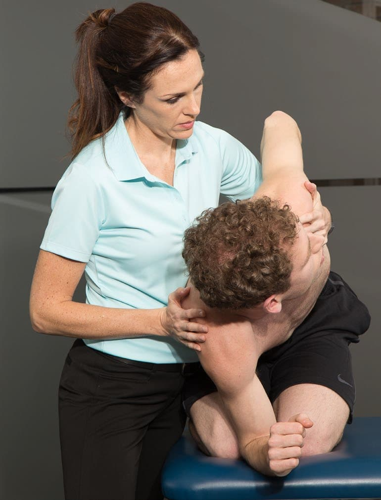 SFMA Lumbar Locked Position