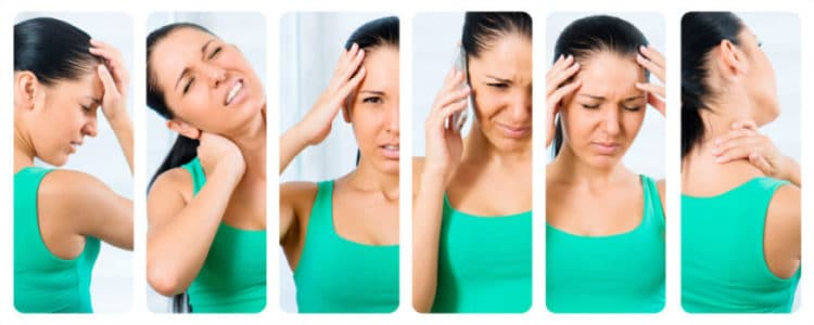 headaches can be caused from all types of reasons