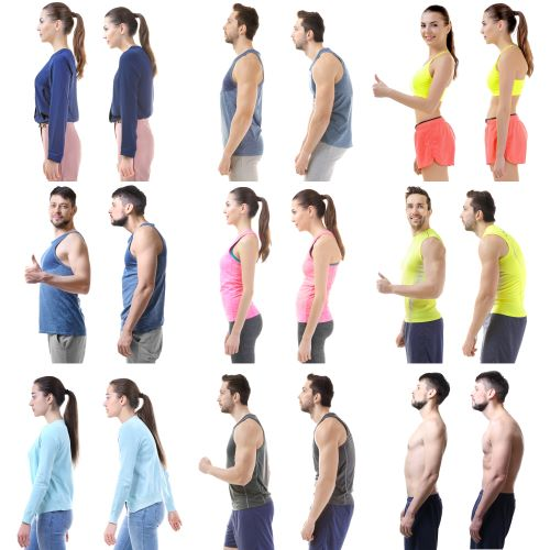 good posture tips examples