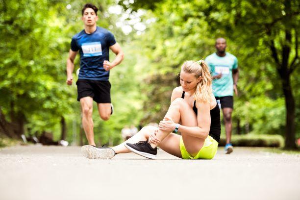 Ankle & Leg Sprain in Runners