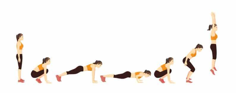 burpees are one of the best bodyweight exercises