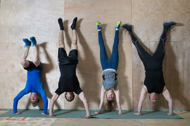 handstand push-up is one of the best bodyweight exercises