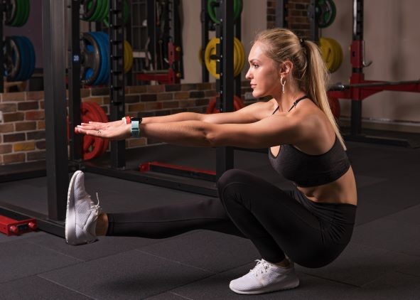 Pistol squat is one of the best bodyweight exercises