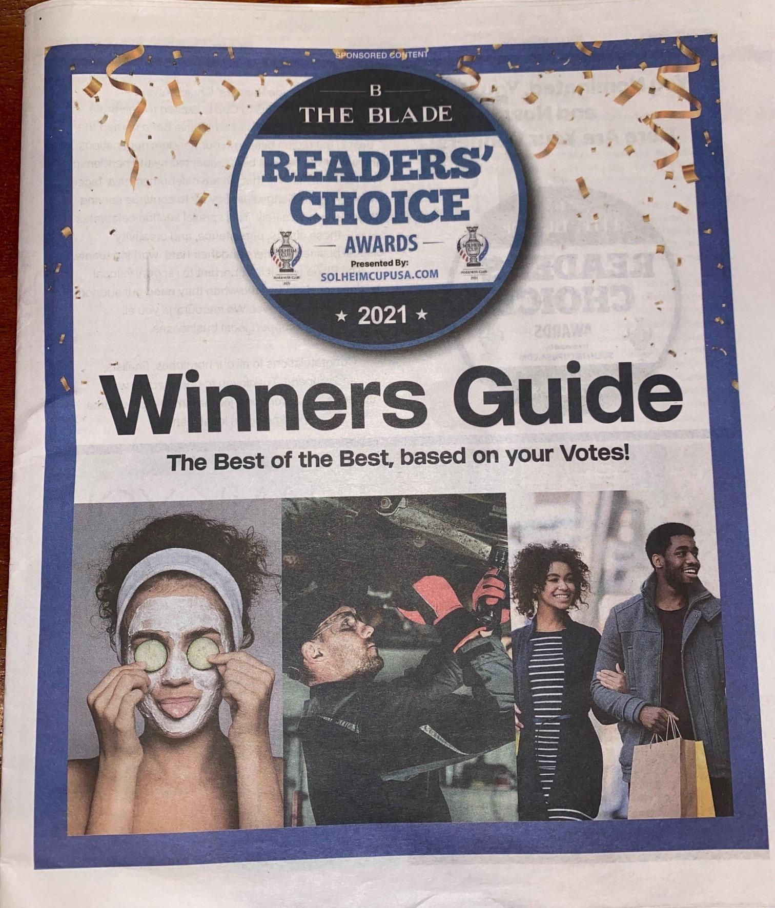 Toledo Best Chiropractor Blade Reader's Choice
